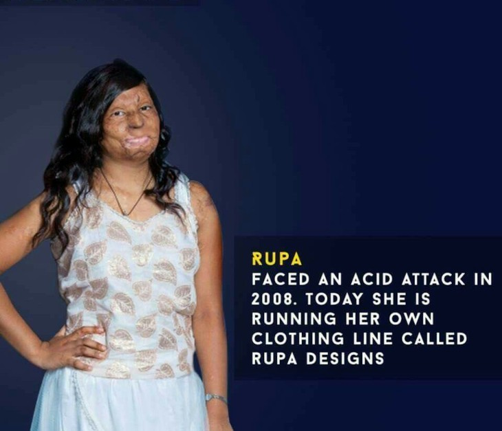 Recover from acid attack